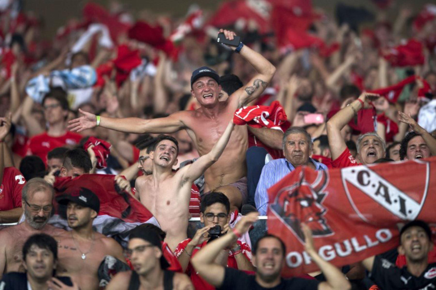Independiente gana la final de la Copa Sudamericana 2017 contra el Flamengo de Brasil. Foto: AFP