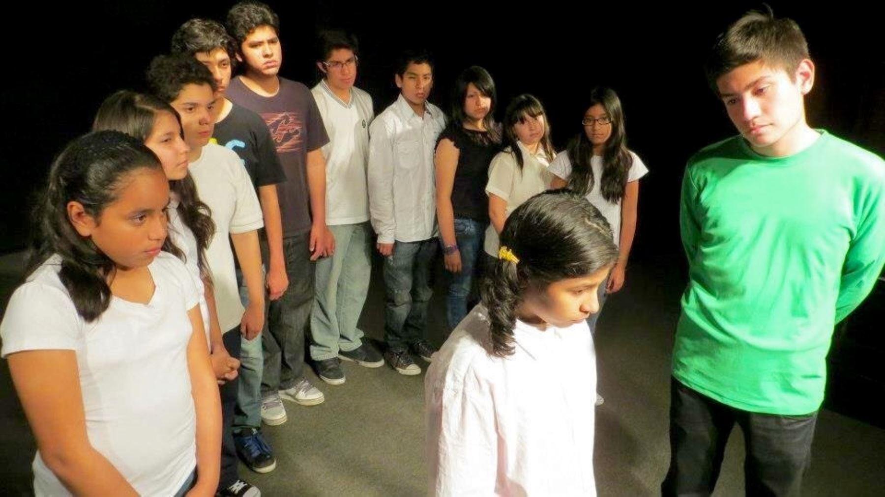 Taller en el Club de Teatro de Lima