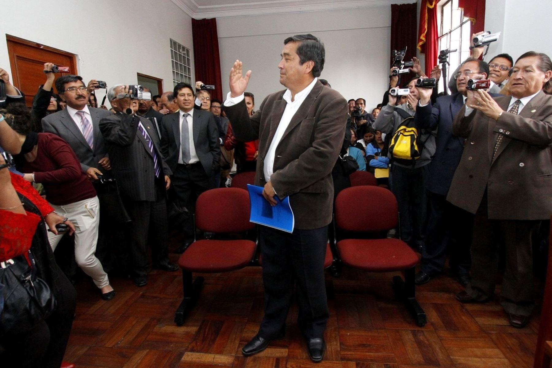 Benicio Ríos: Sala de Apelaciones confirmó 7 años de prisión