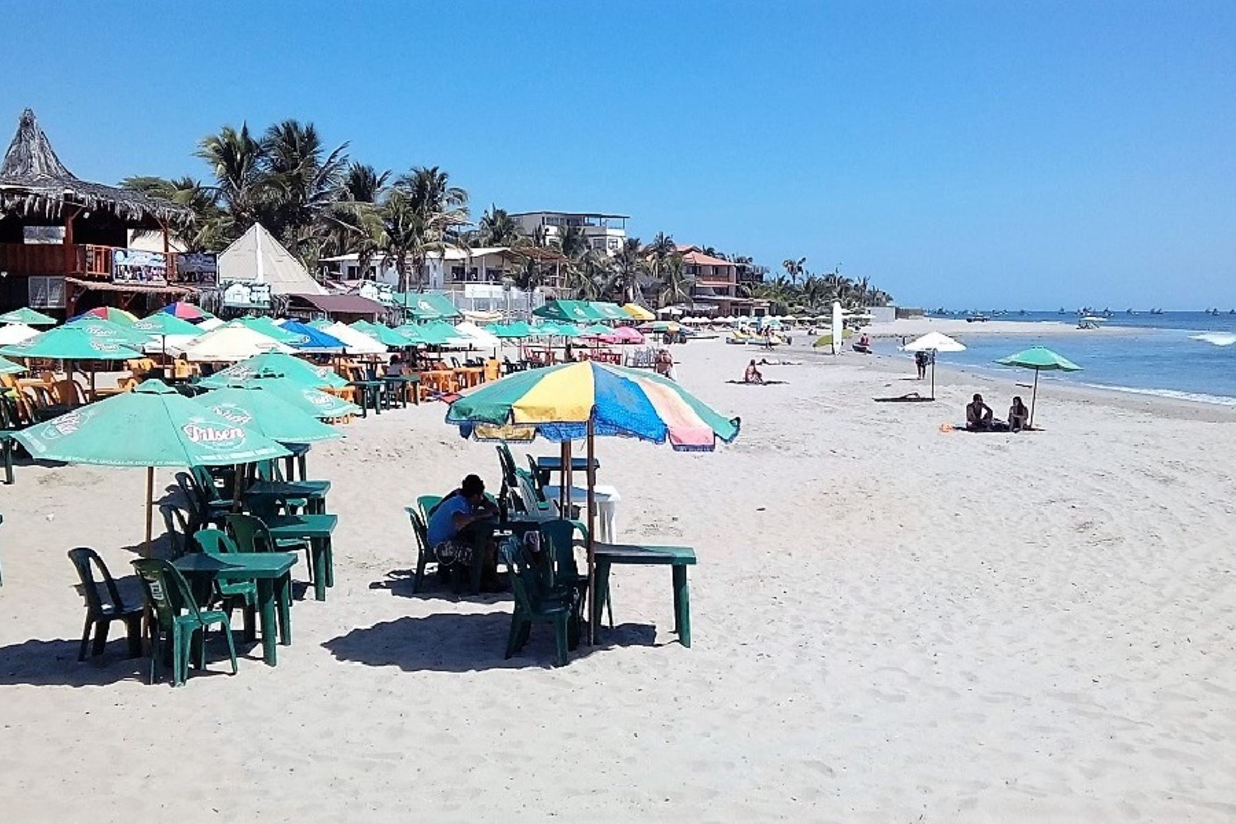 Máncora y otras playas de Talara esperan recibir a miles de turistas.Foto:  ANDINA.