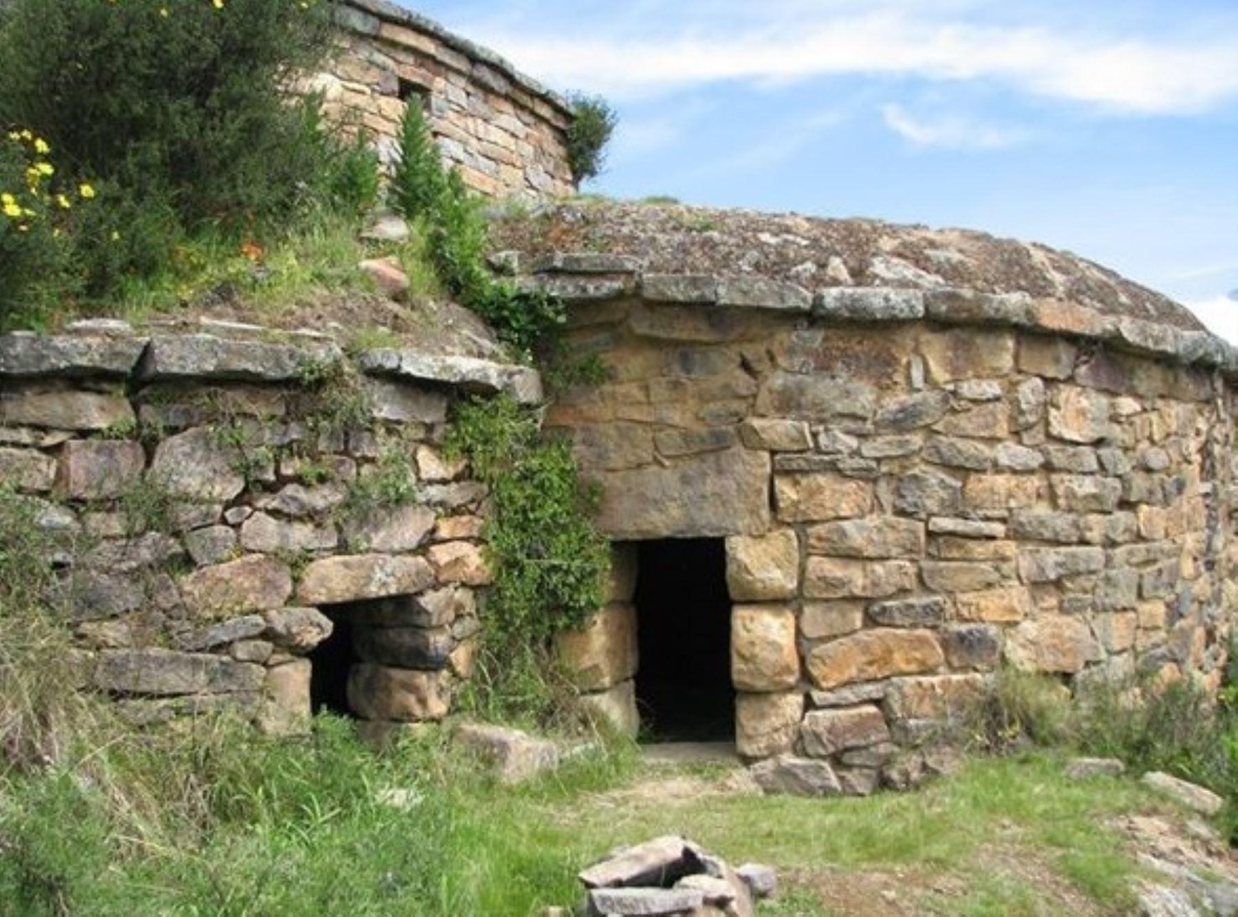 Sitio arqueológico de Cantamarca, en la provincia limeña de Canta.