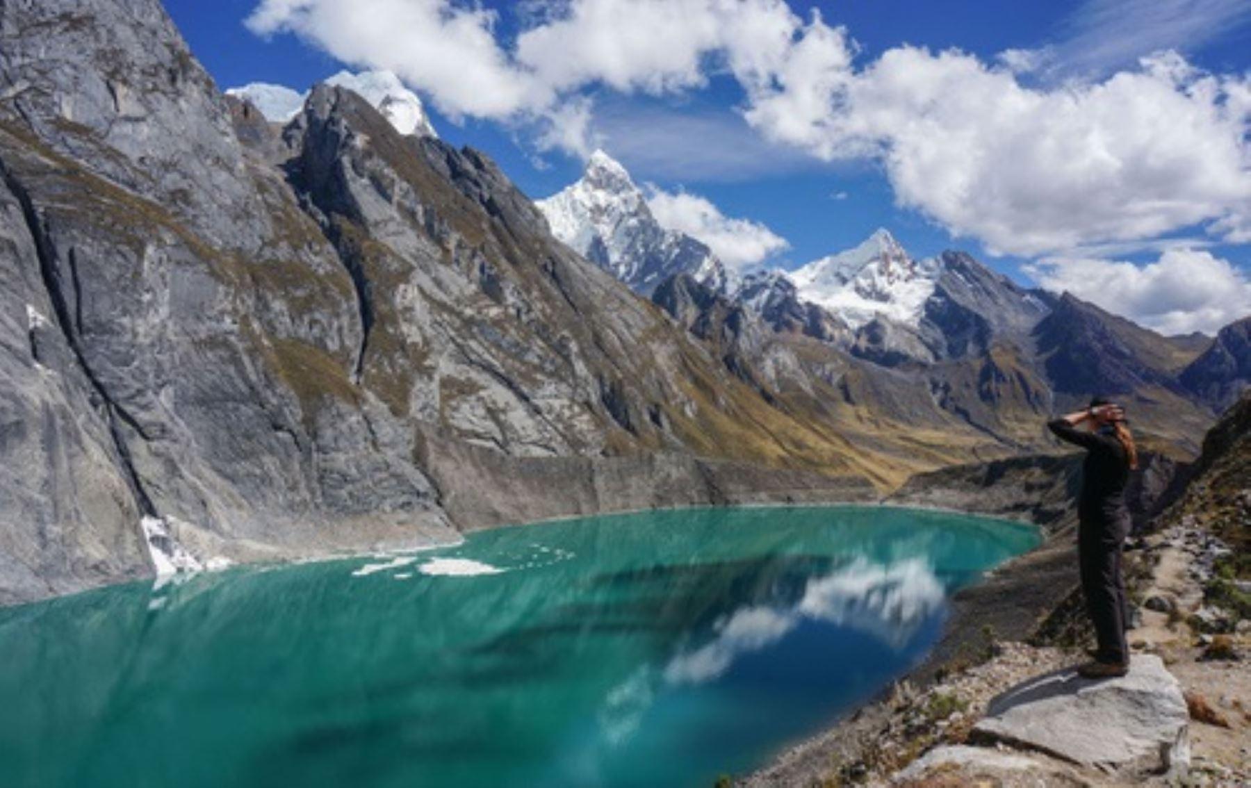 Cordillera de Huayhuash, en la provincia limeña de Cajatambo
