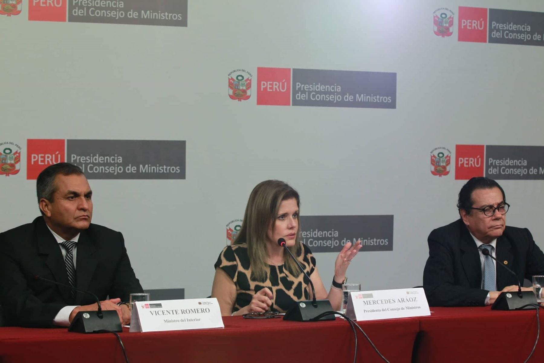 Lima per diciembre 27 jefa del gabinete ministerial for Gabinete del ministro del interior