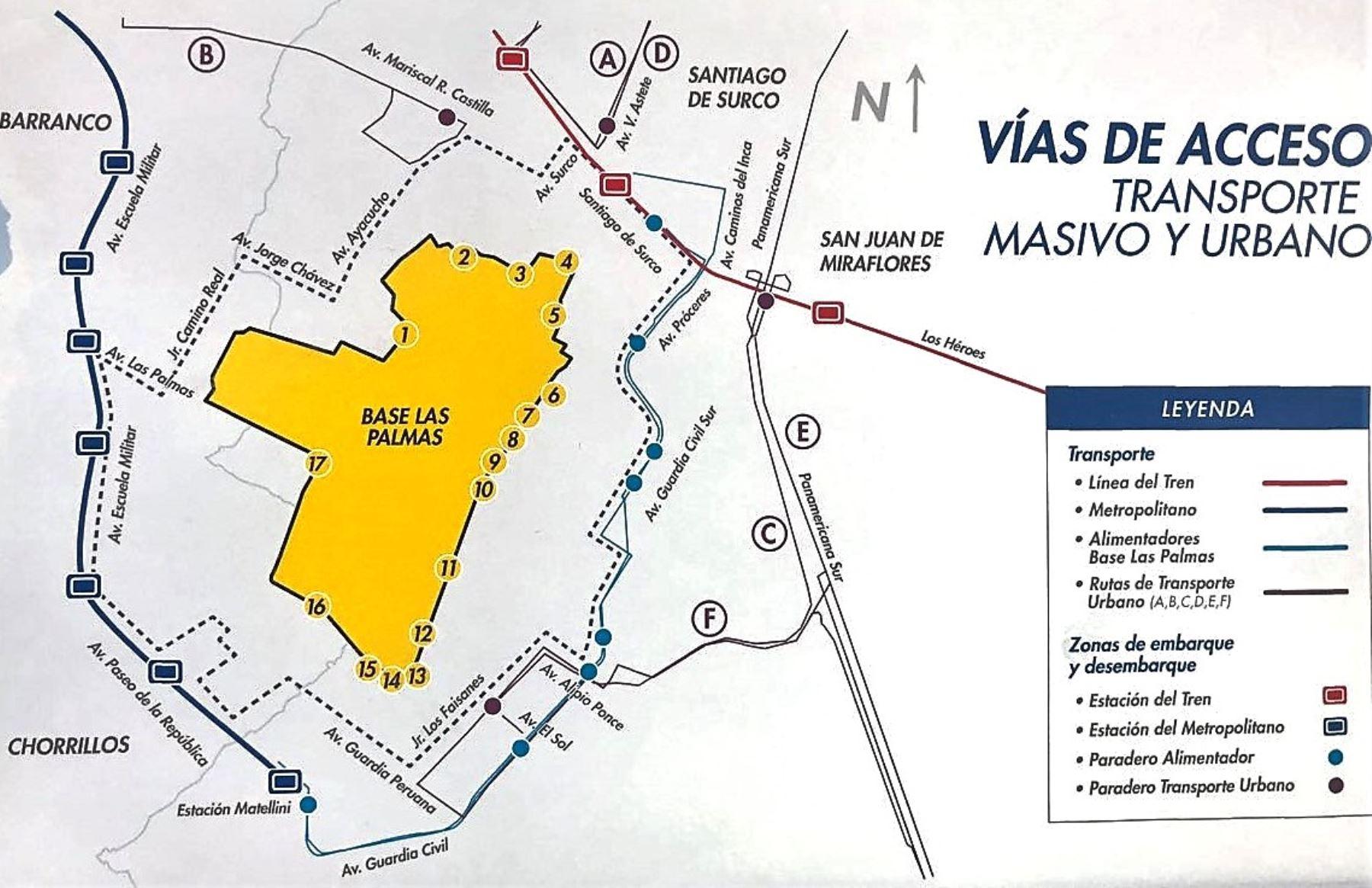 Papa Francisco: conoce desde dónde partirán los buses que te llevarán a Las Palmas. Foto: ANDINA/Difusión.