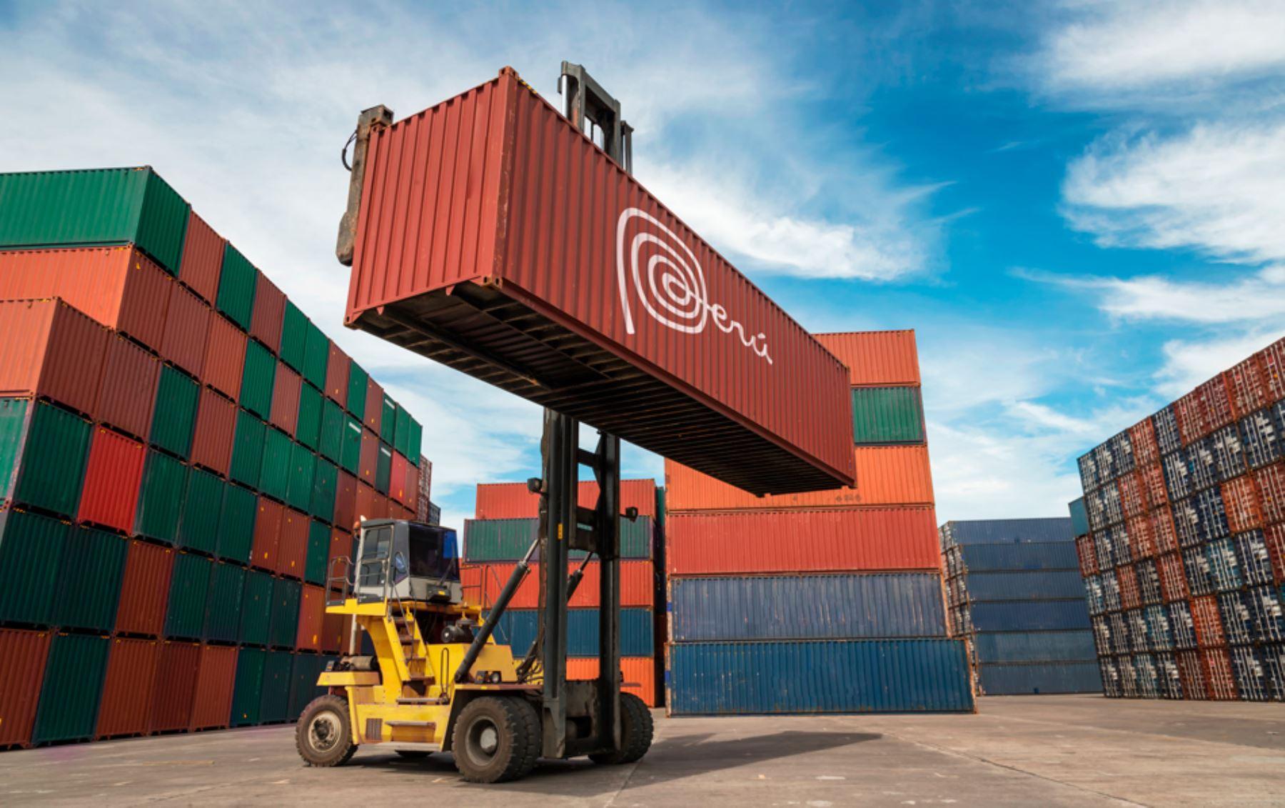 Exportaciones peruanas. ANDINA/Difusión