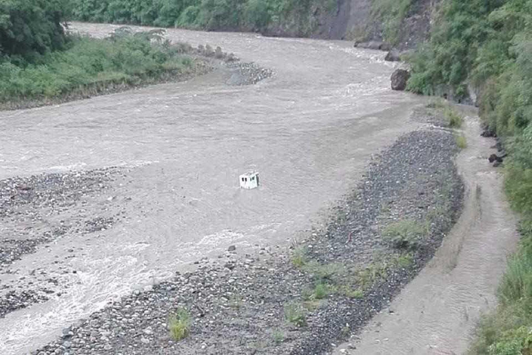 En la estación hidrológica Chilca (Cusco) el río Vilcanota alcanzó un caudal de 372.2 metros cúbicos por segundo; próximo a superar el nivel de Alerta Hidrológica Roja.ANDINA/Difusión