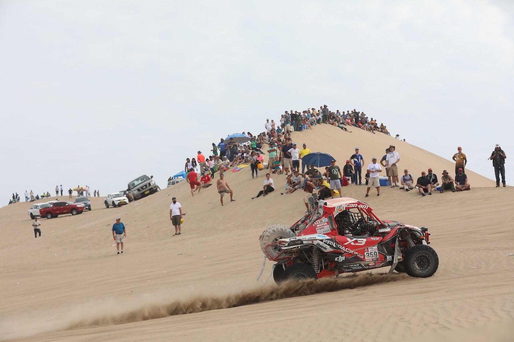 El británico Sunderland abandona el Rally Dakar