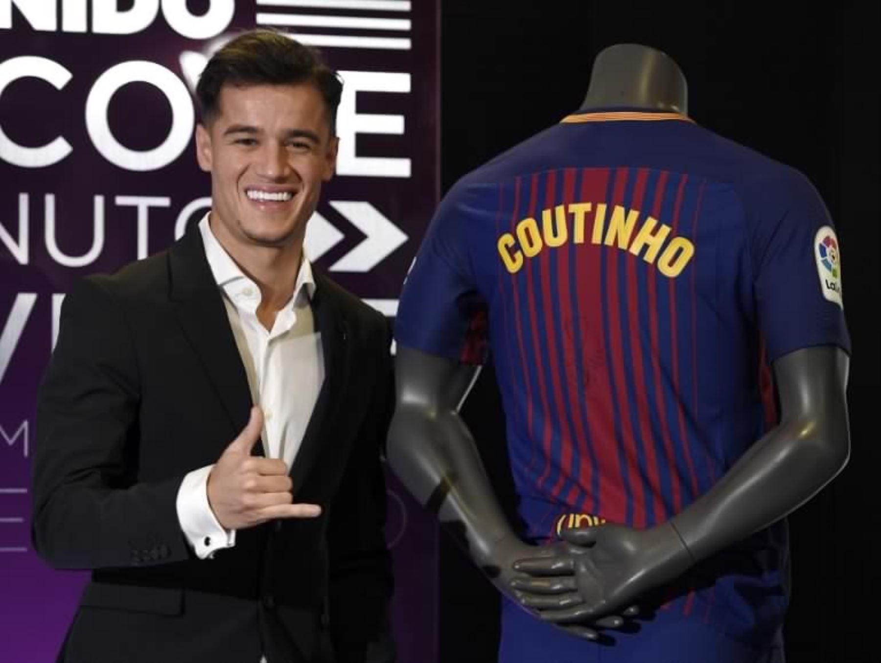 Coutinho, el fichaje más caro en la historia del Barcelona