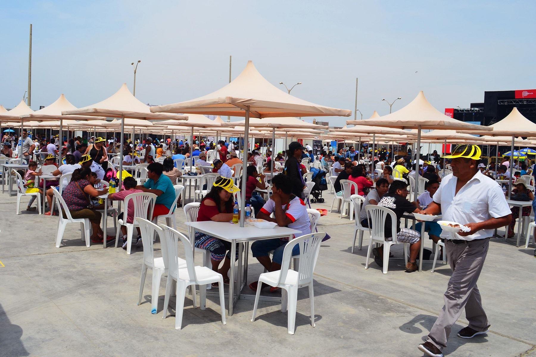 Promperú destaca éxito de Feria Perú, Mucho Gusto Pisco que se organizó por Dakar 2018. ANDINA/Difusión