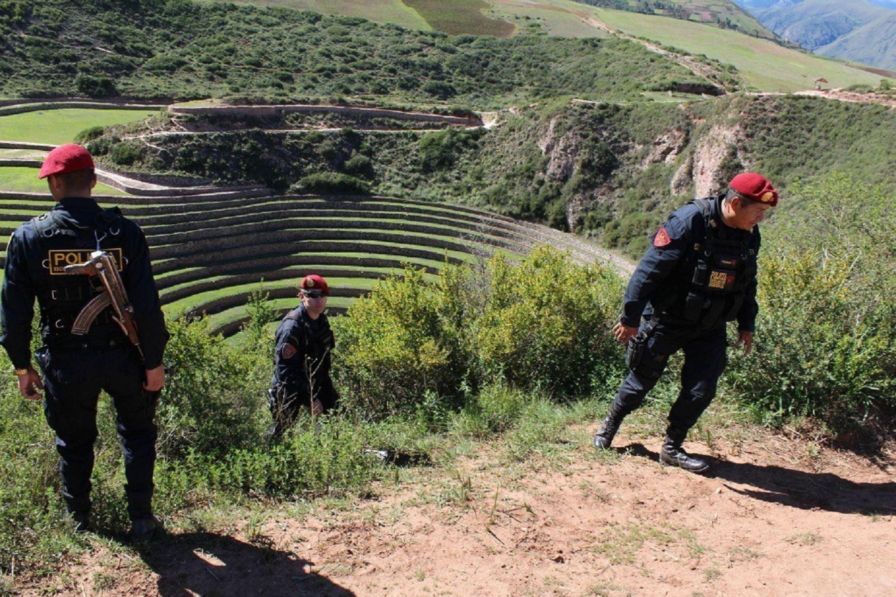 Policía continúa búsqueda de turista española desaparecida en Cusco. ANDINA  Percy Hurtado