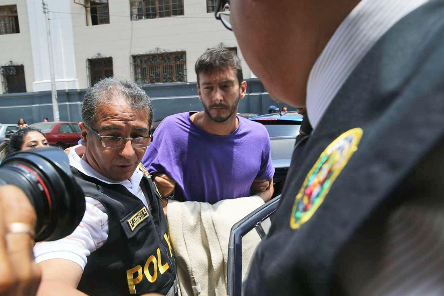 """Saettone fue trasladado al penal Ancón II"""""""