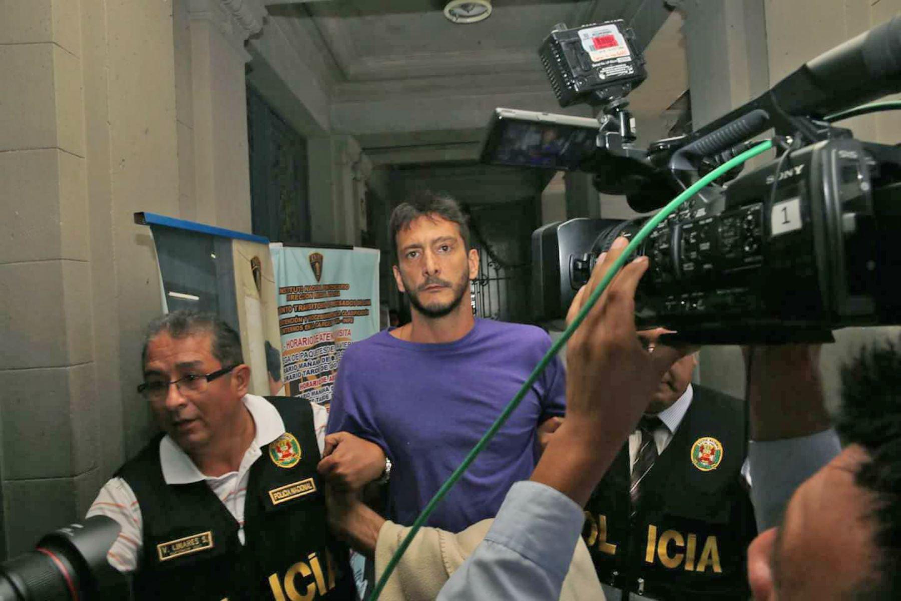Eduardo Saettone saldrá libre tras recibir condena de prisión suspendida