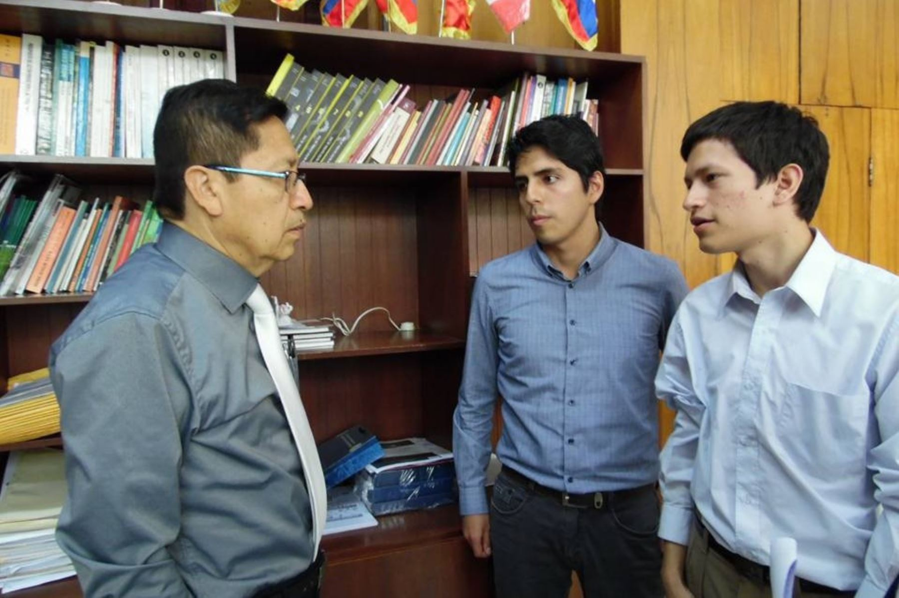Universitarios de Lambayeque integran misión que realizará proyectos en la Luna. Foto: ANDINA.