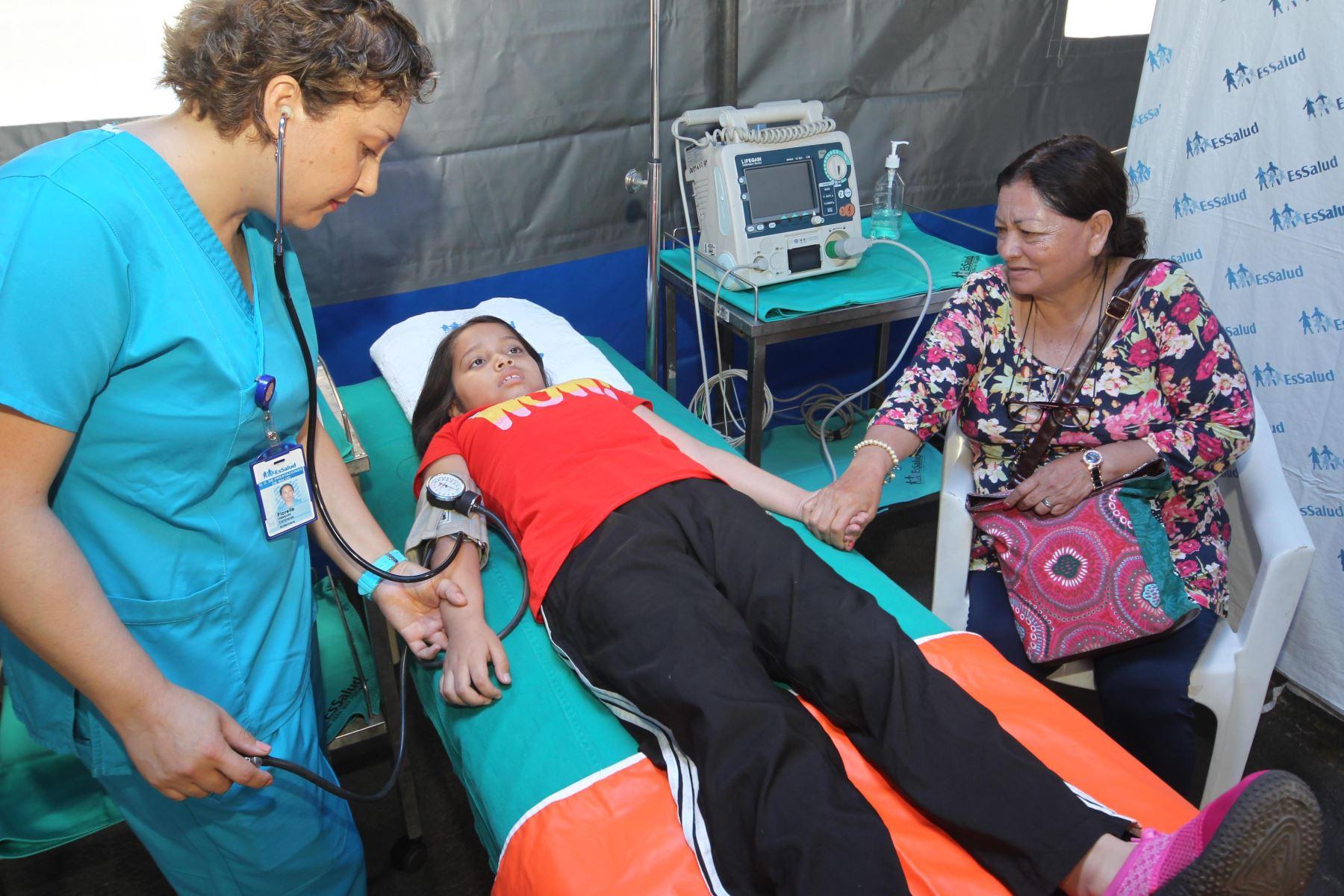 EsSalud instalará 5 puestos médicos para atender urgencias en visita papal. Foto: ANDINA/Difusión