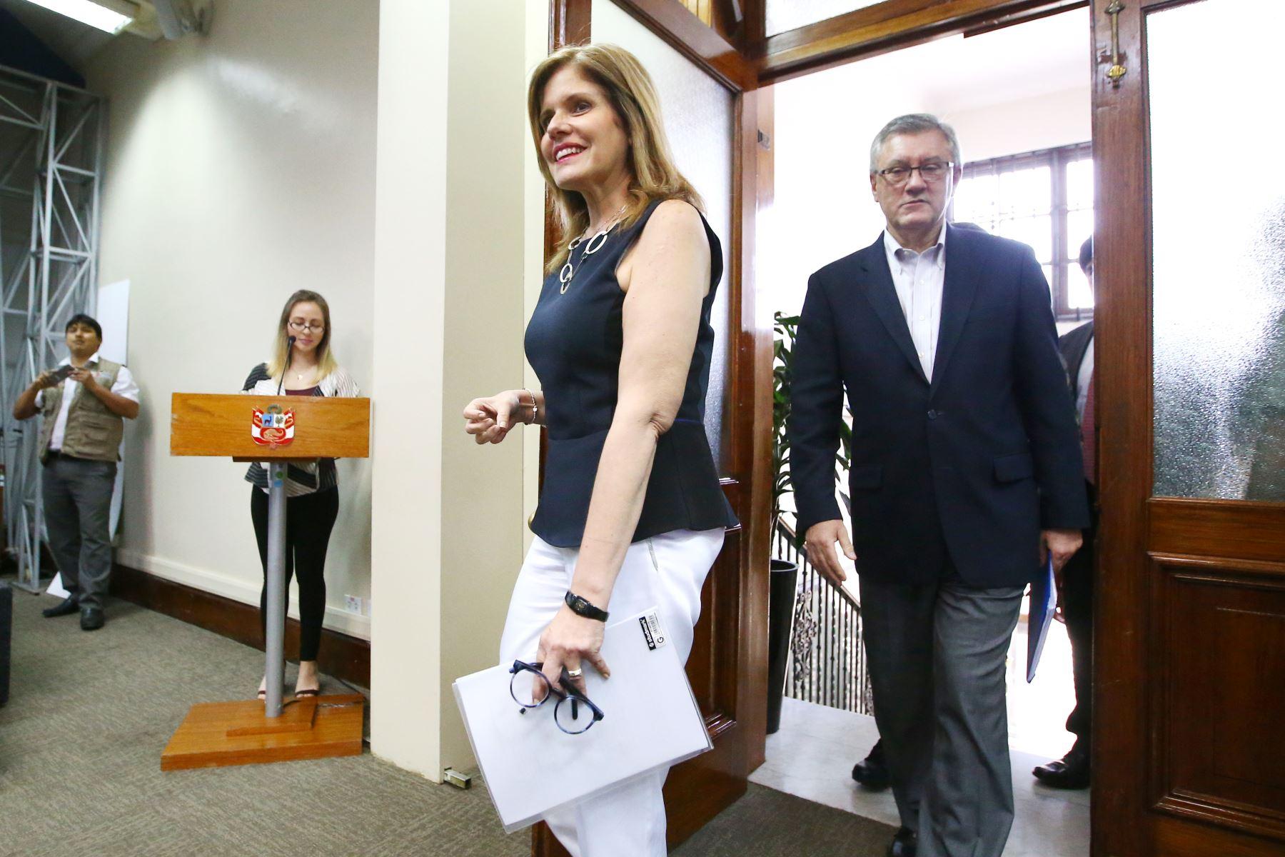 Presidenta del Consejo de Ministros, Mercedes Araoz Fernández.  Foto: ANDINA/Melina Mejía