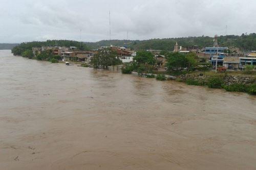 Río Huallaga podría inundar, específicamente, distritos de Yurimaguas, Lagunas y Santa Cruz, en la provincia de Alto Amazonas..ANDINA/archivo