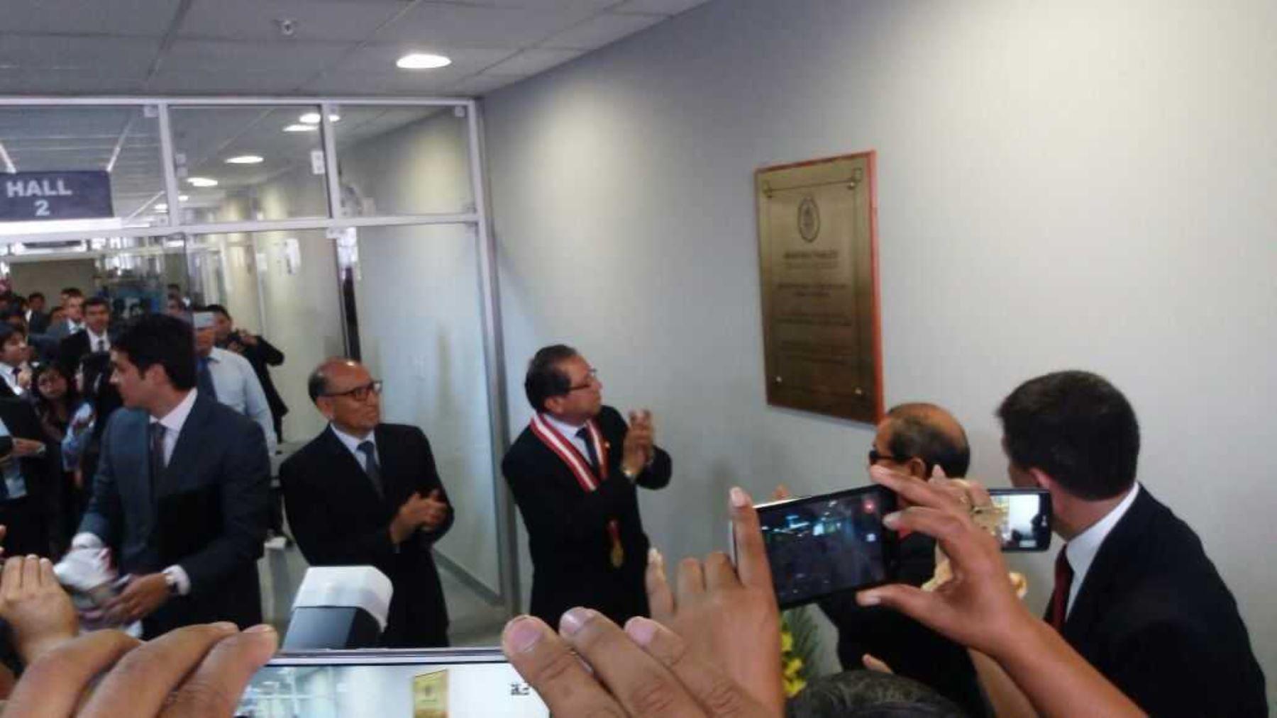 Fiscal de la Nación Pablo Sánchez inaugura sede fiscal en Huaura.