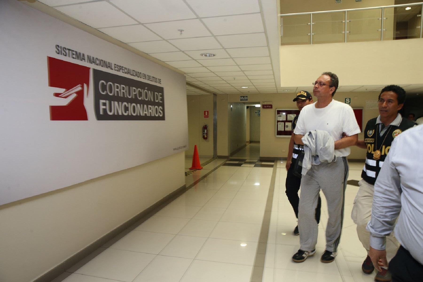 Exasesor del Ministerio de Transportes y Comunicaciones (MTC) Carlos Eugenio García Alcázar.