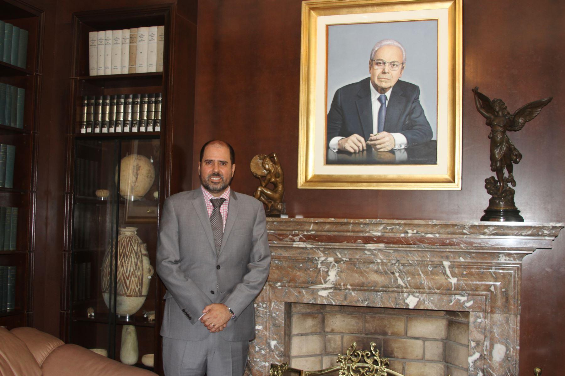 Director adjunto de la Academia Diplomática del Perú, ministro consejero, Alfredo Fortes. Foto: Difusión.