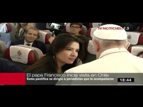 Fátima Saldonid y su encuentro con el Santo Padre.