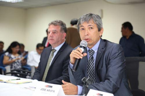 Ministro de Agricultura y Riego, José Arista. Foto: Cortesía Minagri.