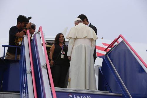 Papa Francisco rumbo a Puerto Maldonado