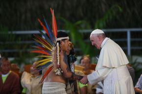 Encuentro del Papa en la Amazonía. ANDINA/Prensa Presidencia