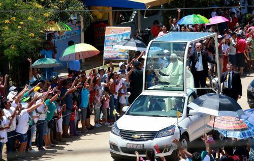 Papa Francisco continúa actividades en Puerto Maldonado