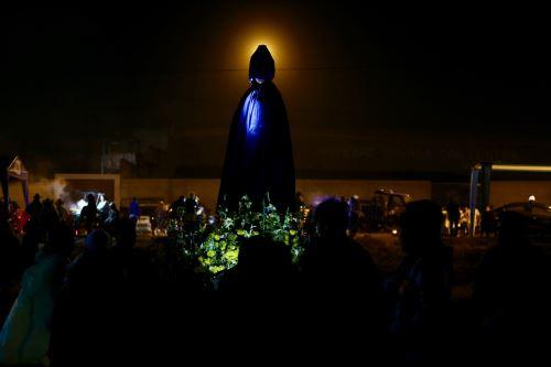 Vigilia por espera del Papa Francisco en Huanchaco