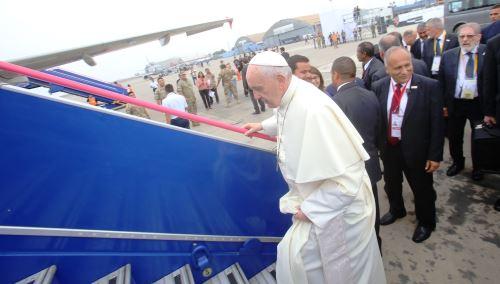 Papa Francisco parte a Trujillo