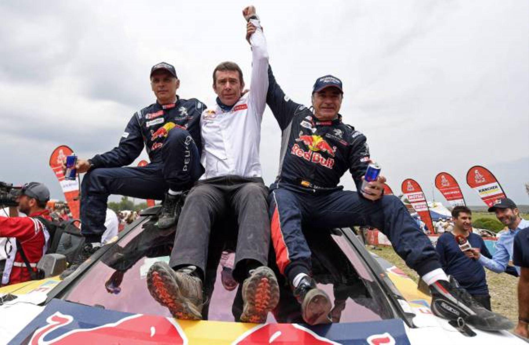 Carlos Sainz ganó hoy el Dakar 2018.
