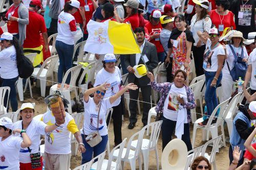 Papa Francisco ofició misa en Huanchaco