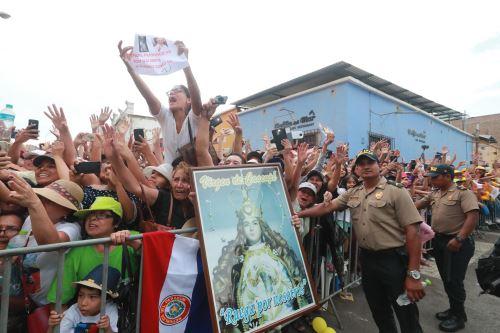 Saludo del Papa Francisco a sus fieles en Trujillo