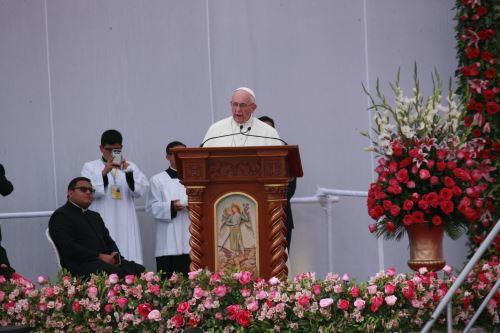 Papa Francisco en Celebración Mariana de la Virgen de la Puerta
