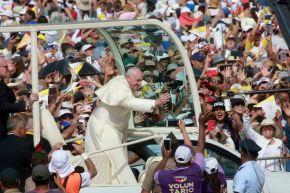 21/01/2018   LIMA PERÚ - ENERO 21. Papa Francisco oficia misa en las Palmas. Foto: ANDINA/Jhony Laurente