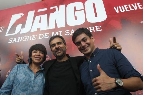 Django, sangre de mi sangre muy pronto en las pantallas. ANDINA/Héctor Vinces