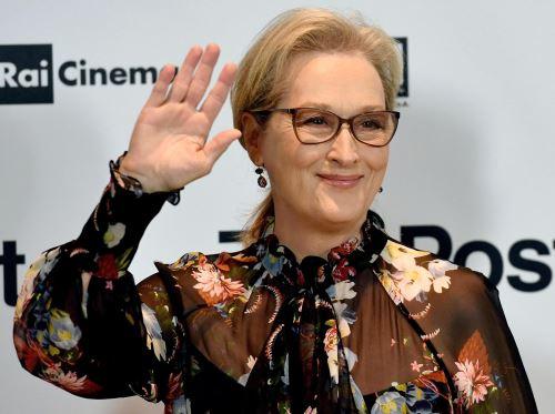 Meryl Streep nominada al Óscar a la mejor actriz. Foto:EFE