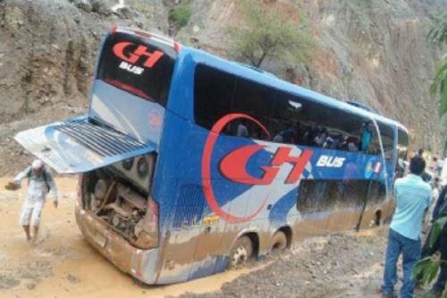 Accidente se produjo anoche, al promediar las 23::50 horas, a 4 kilómetros de la comunidad de Choclococha.