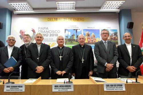 Iglesia Católica reflexiona sobre mensajes del Papa Francisco al Perú. Foto: ANDINA/Dante Zegarra