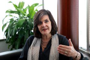 Directora representante de la CAF en Perú, Eleonora Silva.  ANDINA/Dante Zegarra