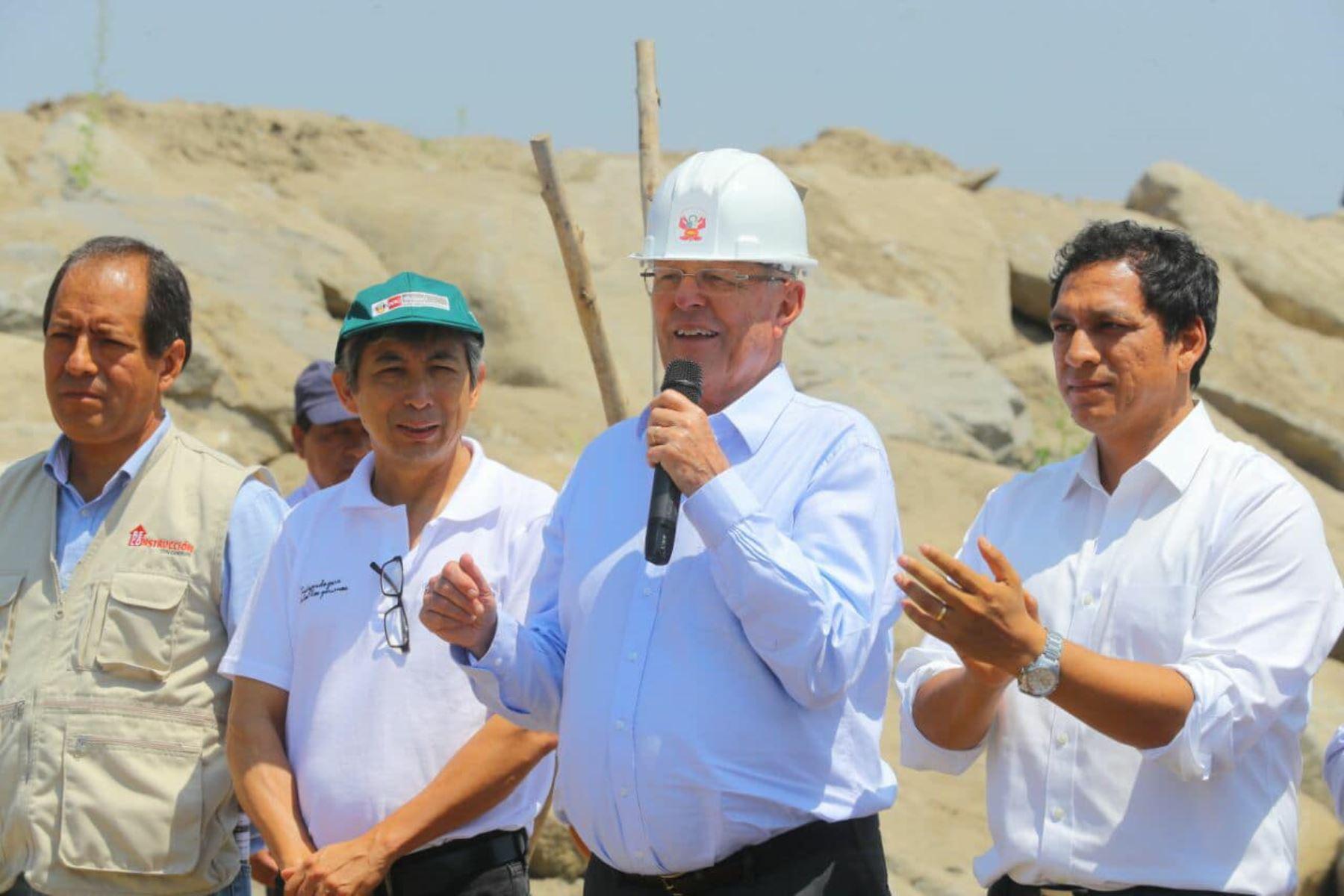 Queremos que obras de reconstrucción duren muchos años — Kuczynski