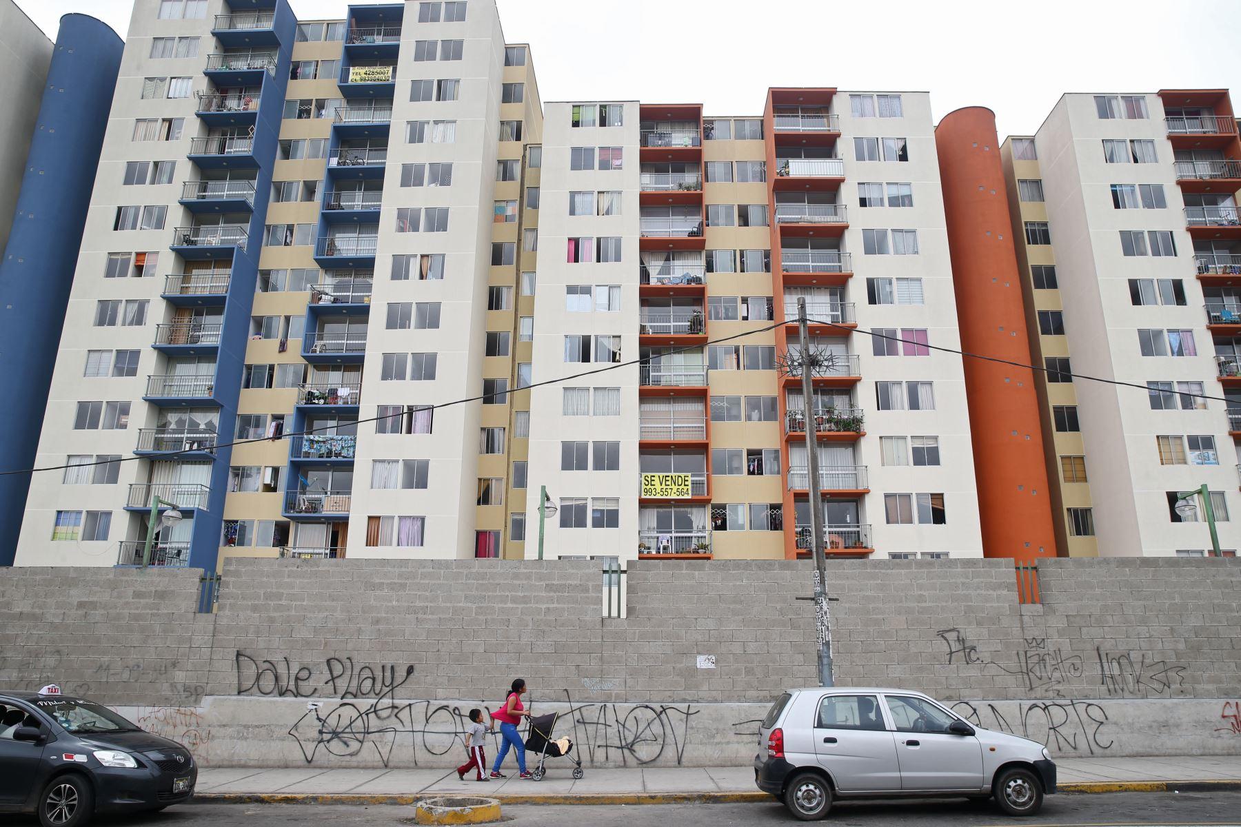 Registros de viviendas. ANDINA