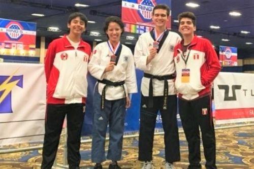 Peruvians win bronze at 2018 U.S Open Taekwondo Championship