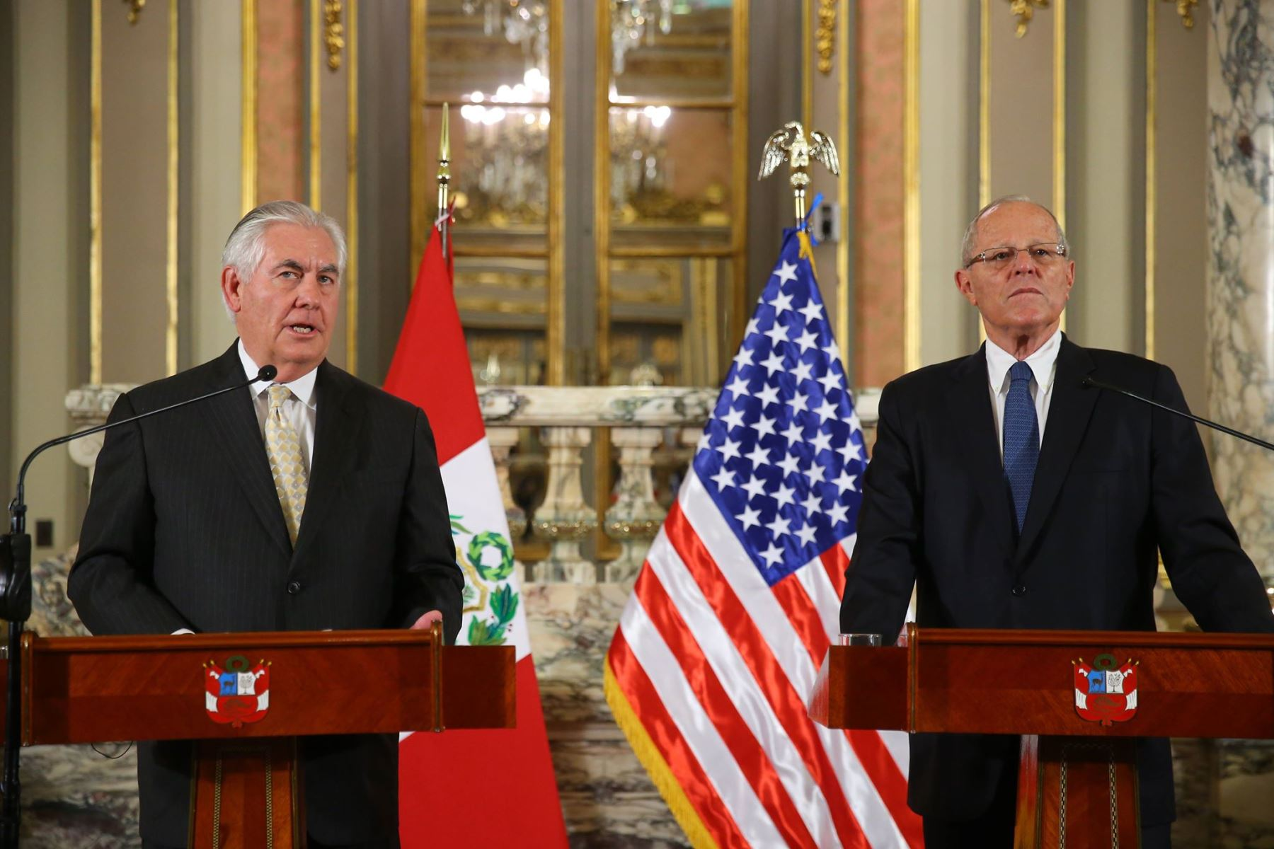 US Secretary of State's visit to Peru: Venezuela on the Agenda