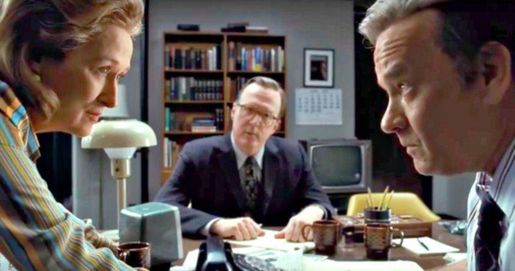"""Escena de la película """"The Post""""."""