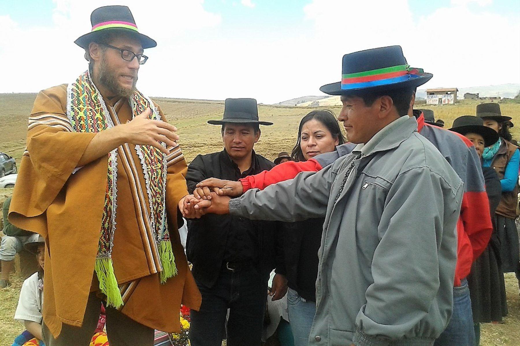 Productores de Andahuaylas, en Apurímac, exportan por primera vez quinua y chía a Italia. ANDINA/Difusión