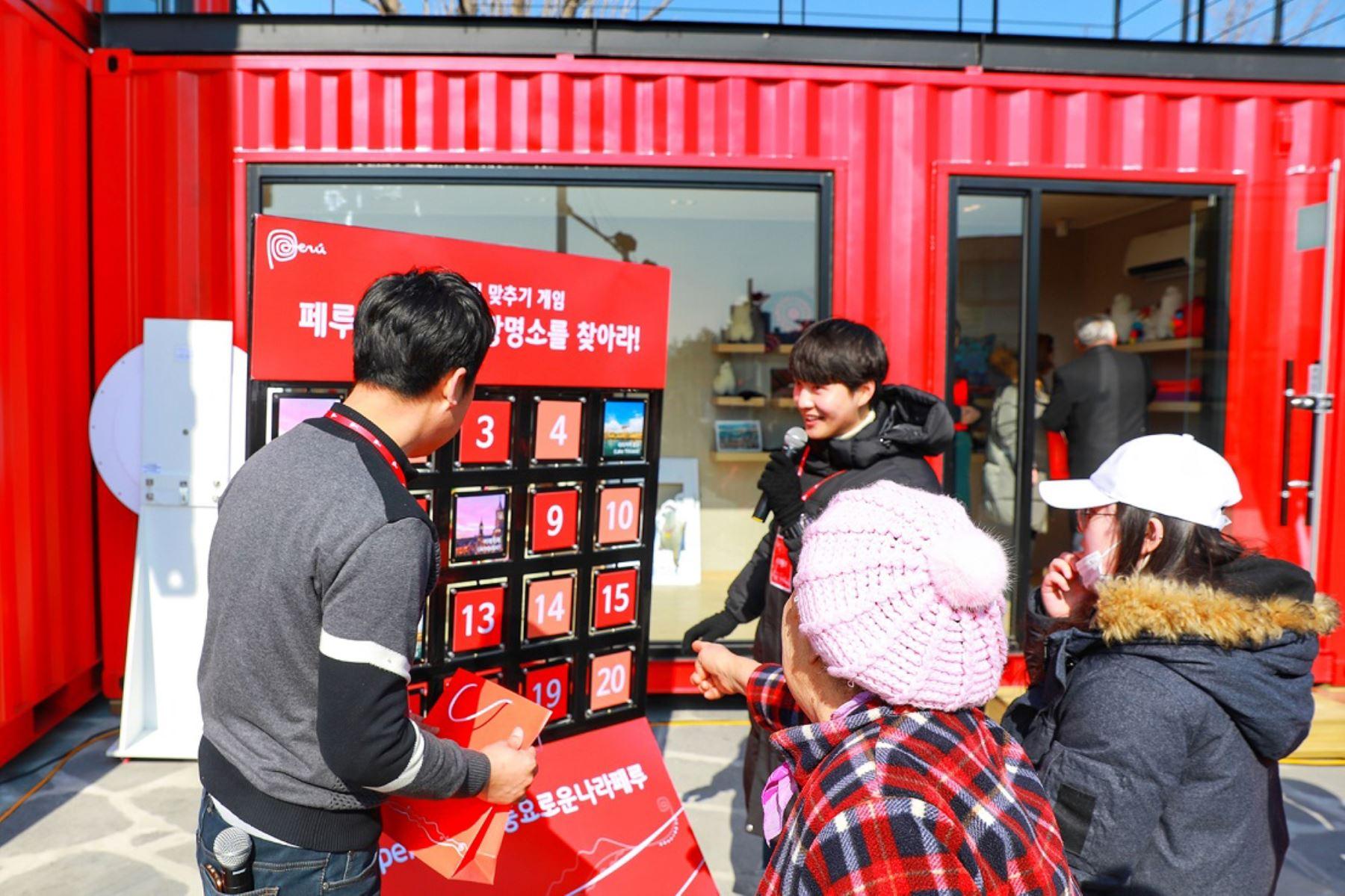 08/02/2018   Primera 'Casa Perú' abre sus puertas en olimpiadas de invierno de Corea del Sur. Foto: ANDINA/ Difusión
