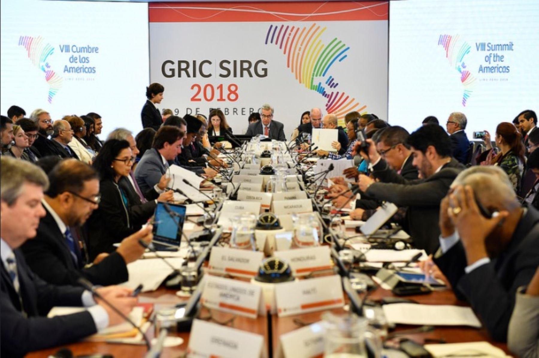 Países negocian compromisos contra la corrupción para Cumbre de las Américas