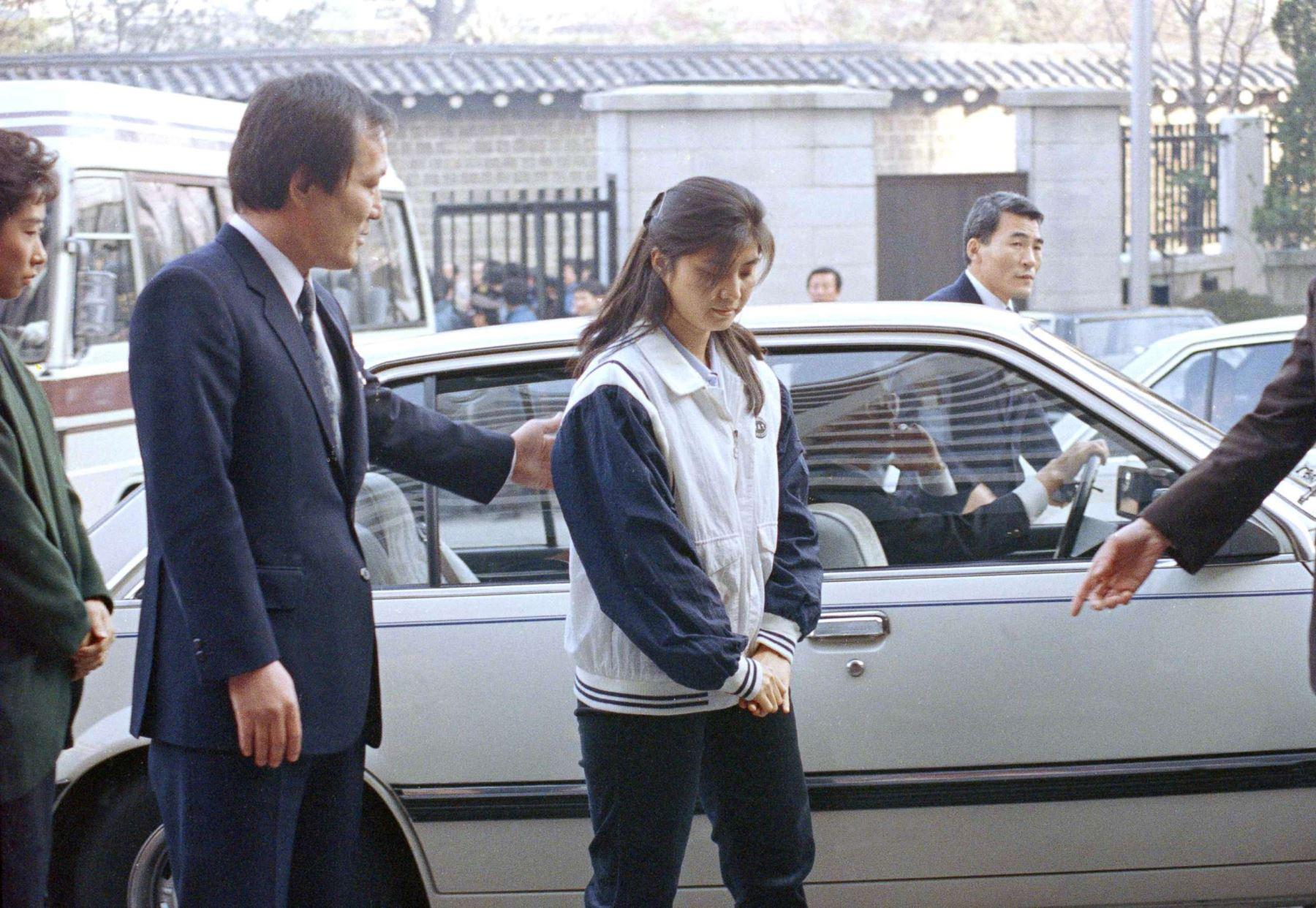 Espía de Corea del Norte, Kim Hyon-hui. Foto: INTERNET/Medios