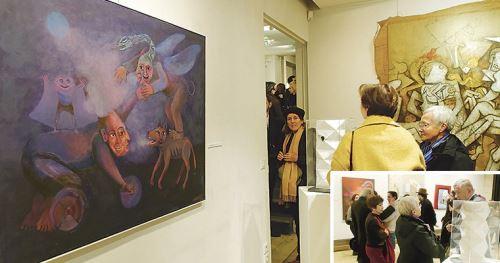 Arte contemporáneo peruano en París. Foto: ANDINA/Difusión
